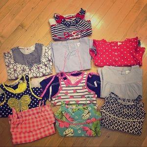 Baby girls shirt bundle 🎈